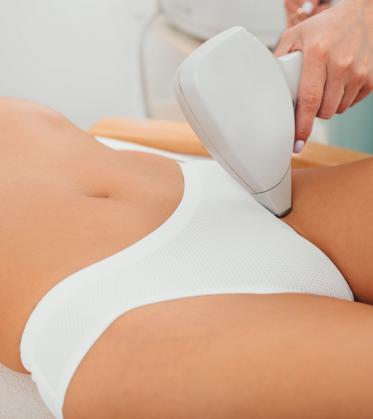 Pakiet depilacji laserowej bikini pełne dla kobiet